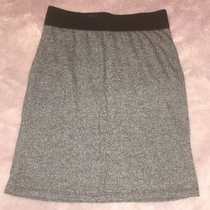 American Eagle heather grey pencil skirt